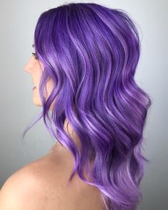 i r i s ___________________________________________ Created with two different formulas for… Pulp Riot Hair Color, Vivid Hair Color, Beautiful Hair Color, Hair Color Purple, Cool Hair Color, Hair Colors, Purple Ombre, Girl With Purple Hair, Mauve