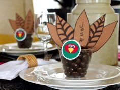 Pheasant Place Cards for #Thanksgiving (http://blog.hgtv.com/design/2013/11/07/daily-delight-pheasant-place-cardsparty-favors/?soc=pinterest)