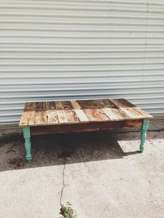 Reclaimed Barn wood coffee foyer sofa table. by triple7recycled