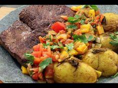 Como fritar bife (beef) - sem fumaça e sem gordura - YouTube