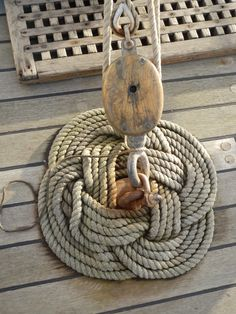 Thump Mat on Sailing Ship Pelican