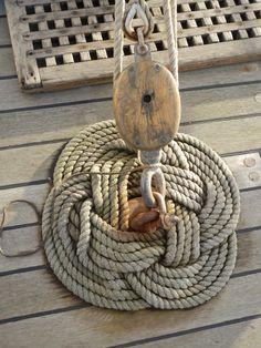 Thump Mat on Sailing Ship Pelican