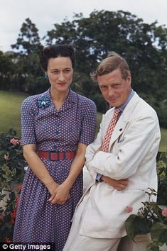 Edward VIII abdicated in 1936 to marry divorcee Wallis Simpson. He was known as the Duke of Windsor.
