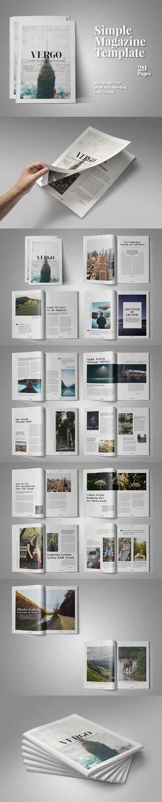 Vergo Magazine. Magazine Templates