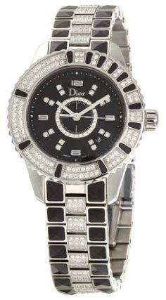 Christian Dior Women's CD11311DM001 Christal Stainless-Steel Bracelet Watch