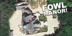 Fowl Manor spotted on GOOGLE MAPS! | Artemis Fowl Confidential Artemis Fowl, Eagle Eye, Inspired Homes, Maps, Google, Map, Peta, Cards