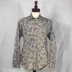 Rockmount Lace Print Shirt at The Maverick Western Wear