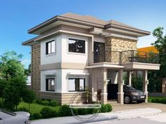 Home design plan with 4 bedrooms.House description:One Car Parking and gardenGround Level: Living room, One Bedroom, Dining room, Kitchen, House Roof Design, Two Story House Design, 2 Storey House Design, Two Storey House Plans, Best House Plans, House Floor Plans, Contemporary House Plans, Modern House Plans, Affordable House Plans