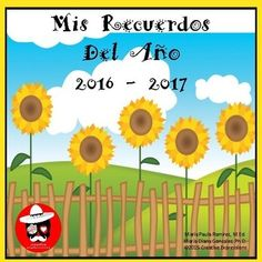 This memory book was designed to help Beginning Spanish and Spanish I middle school students record their memories for the 2014 - 2015 school year. The memory book in Spanish, Mis Recuerdos Del Ano, was created to help students practice using basic Spanish vocabulary.