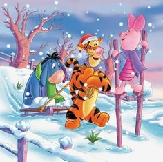 Pooh Corner Your source for all things Winnie the Pooh since Submit Ask Archive Eeyore Pictures, Winnie The Pooh Pictures, Tigger Winnie The Pooh, Winnie The Pooh Christmas, Winnie The Pooh Quotes, Winnie The Pooh Friends, Pooh Bear, Disney Christmas, Cute Disney