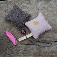 Lavender sachets (Nani Iro/felt)