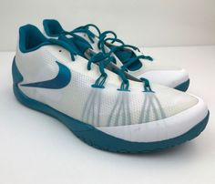 NEW Nike Hyperchase 16.5 Mens Basketball Athletic Shoes 813262-131 Teal  Size Sz  Nike 945429623