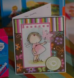 Birthday Fairy Girl