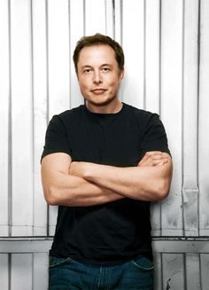 Elon Musk, Internet Entrepreneur and clean energy proponent. PayPal, Tesla Motors, SpaceX.
