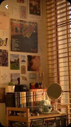 Indie Room Decor, Cute Room Decor, Aesthetic Room Decor, Room Design Bedroom, Room Ideas Bedroom, Bedroom Inspo, Bedroom Decor, Cute Room Ideas, Pretty Room