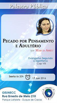 GEUNECC – Grupo Espírita Unidos em Caridade com Cristo Convida para a sua Palestra Pública - Duque de Caxias - RJ - http://www.agendaespiritabrasil.com.br/2016/06/17/geunecc-grupo-espirita-unidos-em-caridade-com-cristo-convida-para-sua-palestra-publica-duque-de-caxias-rj-3-3/