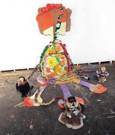 Where did you go, Mike Kelley? (Eaten by Trolls OR The Family Tree...)