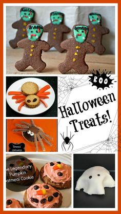 LOTS of yummy Halloween treats- these recipes are simple and fun!