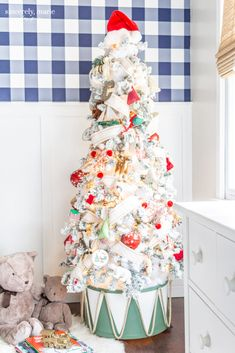 Our Top Ten Posts of 2019 - Sincerely, Marie Designs- drum tree collar Old Fashion Christmas Tree, Christmas Tree Tops, Christmas Tree Wreath, Retro Christmas, Christmas Tree Decorations, Christmas Crafts, Holiday Decor, Christmas Christmas, Primitive Christmas