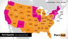 Donde hay más #homofobia, donde más porno #gay se busca en #internet #LGTB (pineado por @OrgulloWine) Haz clic en la imagen para leer la noticia #gay #colors #colours #rainbow #pride #freedom #gaypride #BeTrue