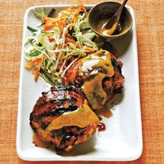 Maple-Mustard Chicken Thighs | MyRecipes.com