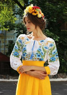Russian Beauty, Russian Fashion, Maxi Skirt Tutorial, Ethno Style, Mode Boho, Mexican Dresses, Embroidery Fashion, Spring Fashion Trends, Summer Outfits Women