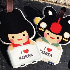 [Stationery (Fancy)] Korea goods – Character name tag (4type) $9.50 on kstargoods.com
