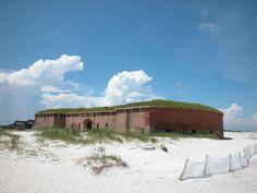 Fort Massachusetts, Gulf Islands National Seashore, West Ship Island, Mississippi