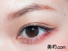 '血色メイク'で目が腫れぼったくなる〜を解決!ヒミツはアイシャドウの場所◎|MERY [メリー]