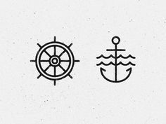 Image result for anchor geometric tattoo