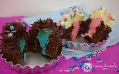 cupcake azul e rosa - Pesquisa Google