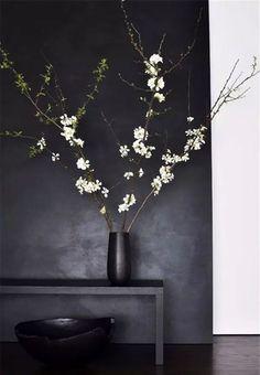 Weekend decorating idea: decorating with cherry blossoms | The Decorista | Bloglovin'