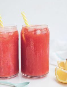 Watermelon Ginger Lemonade