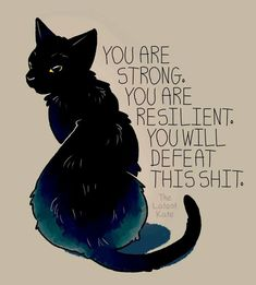 Depressive-Künstler-Illustrationen-Angst-Thelatestkate Source by The Words, Me Quotes, Motivational Quotes, Inspirational Quotes, Famous Quotes, Cute Animal Quotes, Animal Memes, Plus Belle Citation, You Are Strong