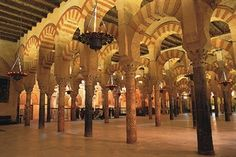 Cordoba - once a mosque and now a cathedral - one of the most amazing places I will ever see.  Only a trace of the original Visigoth church, but the mosque and cathedral exist in beautiful harmony.