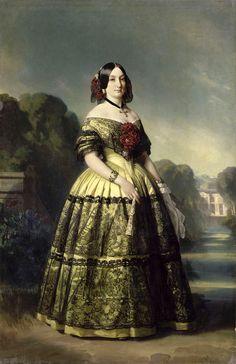(Luisa Fernanda Infanta, duchessa di Montpensier, 30 gennaio 1832 - 2 Febbraio 1897)
