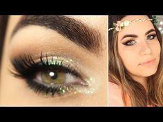 Tutorial de Maquiagem para o Carnaval com Glitter - YouTube