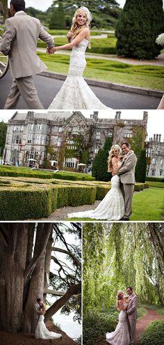 Irish castle wedding on #SMP