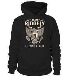 Team RIDGELY Lifetime Member