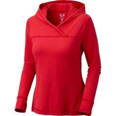 Mountain Hardwear Butter Topper Hooded Shirt - Long-Sleeve - Women's   Backcountry.com