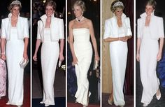 royalroaster: Princess of Wales in the 'Elvis Dress' by Catherine Walker Princess Diana Fashion, Princess Diana Family, Princess Of Wales, Princesa Real, Catherine Walker, Charles And Diana, Lady Diana Spencer, Glamour, Royal Fashion