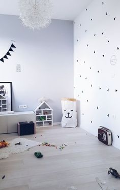 Triangle wall stickers are one of my first ones. This is beautiful triangle wall in my son's room.This stickers are 100% handmade.You can read full…