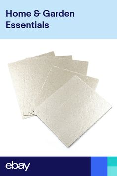 5 Pcs 120x140mm Microwave Oven Repairing Part Mica Plates Sheets Fg