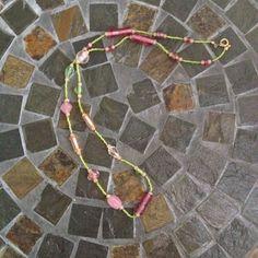 Springtime Long Strand Necklace (Set) on Etsy, $45.00