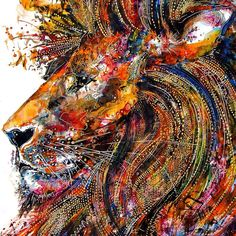 Zebra Art provides the information about the art world. News about painting, photography, illustration, exhibition, sculpture and installation art. Lion Art, Drawing Artist, Cool Drawings, Art Projects, Art Photography, Art Gallery, Currently Working, Image Makers, Lion Painting