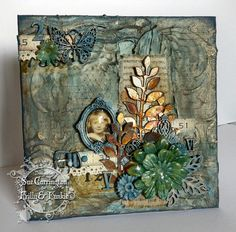 Frilly and Funkie: Step x Step - Recycled canvas  http://thefunkiejunkie.blogspot.com/2015/02/its-time-for-get-away.html
