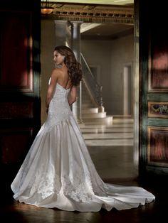 Style No. 213240 » David Tutera for Mon Cheri»wedding dresses 2013 and bridal gowns 2014