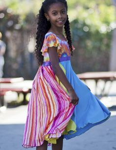 Girls dresses clothing.   Come see the entire TwirlyGirl line.  Seen here: Daydreaming Dress  $74