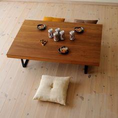 鉄脚ローテーブル(早割5%オフ適用) / カグオカオンラインショップ