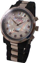 Black Casino Unisex Watch